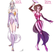 2012 Marani vs 2014 Marani by VexyFate