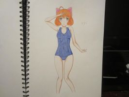 Swimsuit Penny ! by XxSgtCampbell