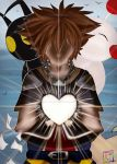 ACEO- Kingdom Hearts: Shining Heart by Tailsandtunes