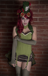 Poison Ivy I (Steampunk/Burlesque Ver.) by Candustark