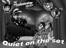 TTCOT- Quiet on the set by DacotheTaco