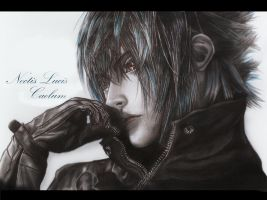 Noctis Lucis Caelum by MyaWho