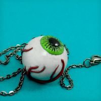 Eye Ball Necklace by beatblack