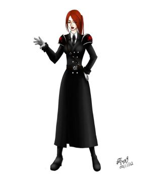 Agent for the Empire's wrath Jean Stone by TrueRageXRT