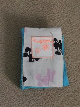 BCD: Flowers Mini Blank Book 9 by t0pd0g4evr