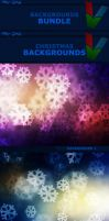 Christmas Backgrounds - Bundle by ViktorGjokaj
