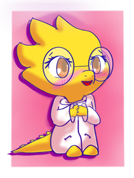 Alphys - Undertale by JellyBeanz2000