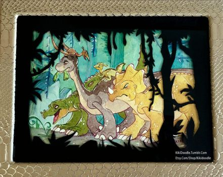 Whispering Winds: a Don Bluth Tribute by kiki-doodle