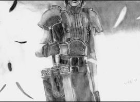 Final Fantasy VII: Zack Fair by ChronicleArtist