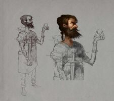 Character sketch by ThomasBrissot