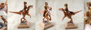 Mini Raptor Queen made by CadaverCaptain by T-i-g-g