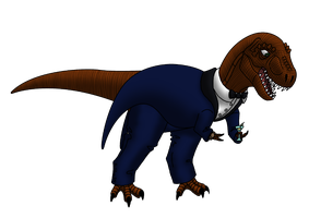 Poharex in a Tuxedo by Poharex