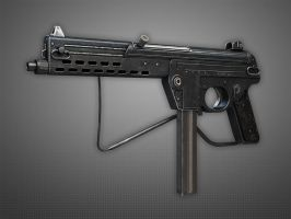 Walther MPL Submachine Gun by Kutejnikov