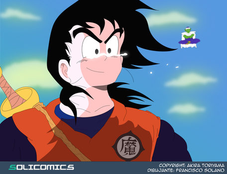 Gohan by Solicomics