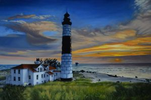 Lighthouse by georgeayers2000
