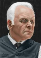 Anthony Hopkins in Westworld by martianpictures