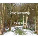 Snowy Paths 1 - stock set by chop-stock