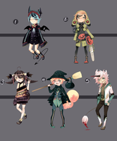 Adopts:: Halloween batch closed by Pandastrophic