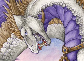 ACEO for Tir Goldeness by Dragarta