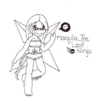 Gaia art for marqulia_The Leaf by DimiraGurl