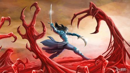 Knigth Against the Dark Claws by clemper