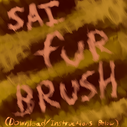 Custom SAI Brush: Fur by Rasec-Wizzlbang