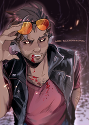 Dream Daddy - Monster AU - Robert by ABD-illustrates