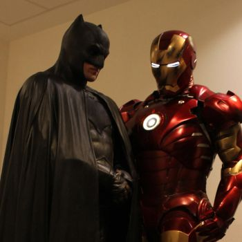 Batman and Iron Man by PhelanDavion