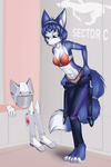 Commission: Krystal after Mission by Mancoin