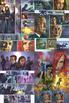 Alias: Agent Bristow Comic 02 by andyparkart