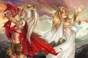 Grimm Myths and Legends #22, G. Cafaro by sinhalite