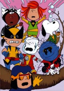 Peanuts X-Men by jdhgoodgrief