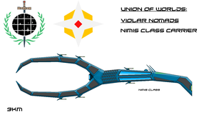 Violar Nimis Class Carrier by EmperorMyric