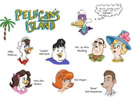 Pellican's Island by chill13