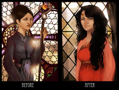 Request: Before and after by Enife