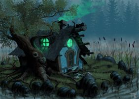 Witch Hut by mangis