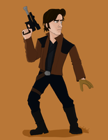 Young Solo by JediBandicoot