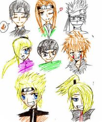 Favorite Naruto Characters by NamePendingCreations