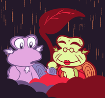 [Kirby] Visitor by one-starry-knight
