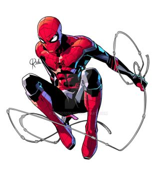 Spiderman new costume by ordo1010