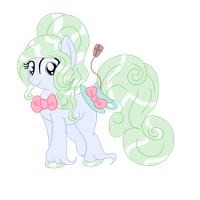 .:CLOSED:. OTA Green Tea HoloCoffee pony Adopt #1 by Angel-Coffee