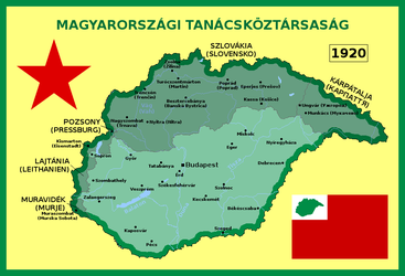 Alternative Hungarian Soviet Republic (1920) by matritum