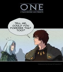 One Webcomic - Chapter 7 by alempe