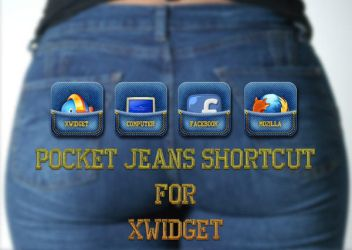 Pocket Jeans Shortcut for XWidget by boyzonet