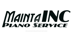 MaintaINC Piano Service Logo by ManHoPark