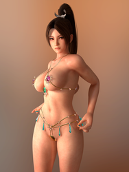 Dead or Alive DOA Mai Fortune by RadiantEld