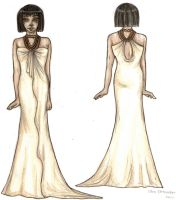 Egyptian Evening Wear by ClepClep