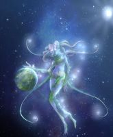 Gaia the world mother by Heart0fInk
