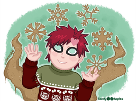 12 Sandy Days of Christmas - Fifth Day by Sandy--Apples