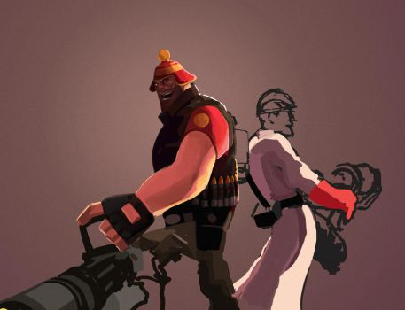 Team Fortress 2 wip by Kisam
